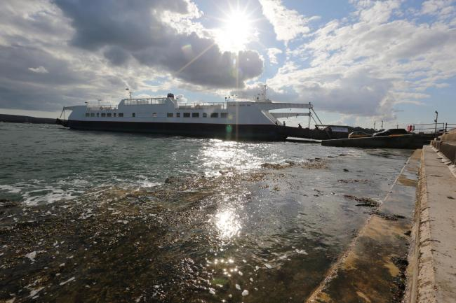 The Sandbanks Chain Ferry. file picture.