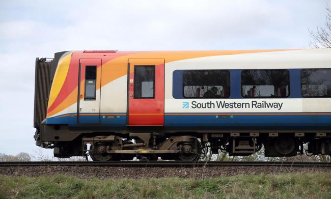 Members of the Rail, Maritime and Transport union (RMT) on South Western Railway (SWR) will stay on strike until Saturday evening