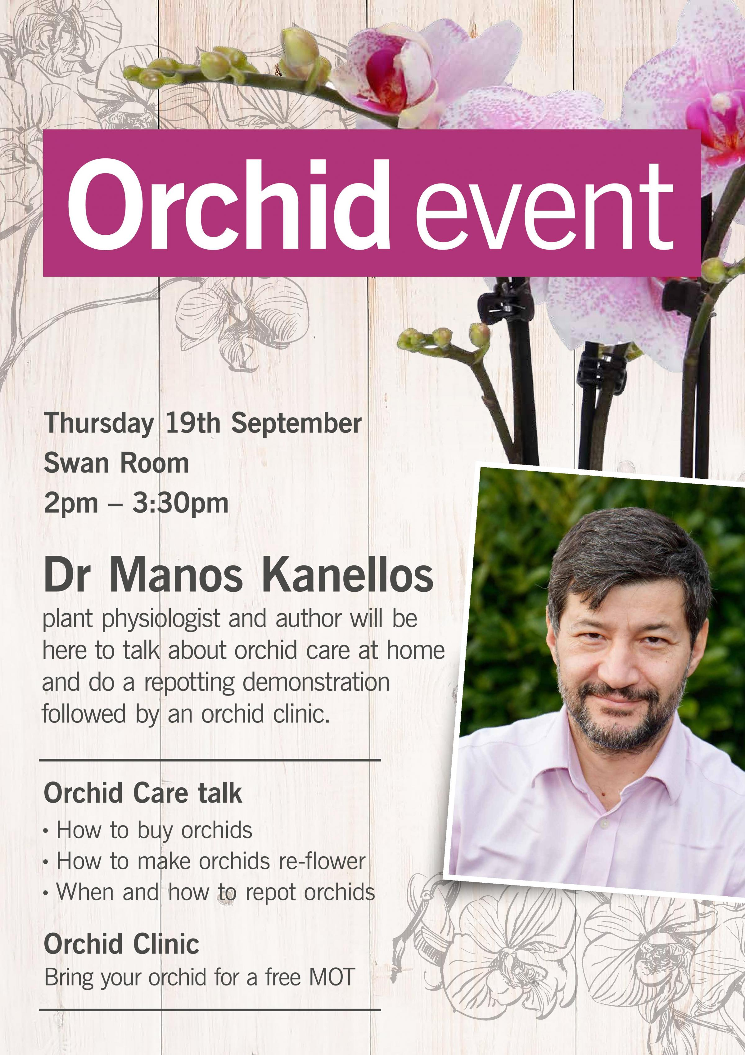 Orchid event
