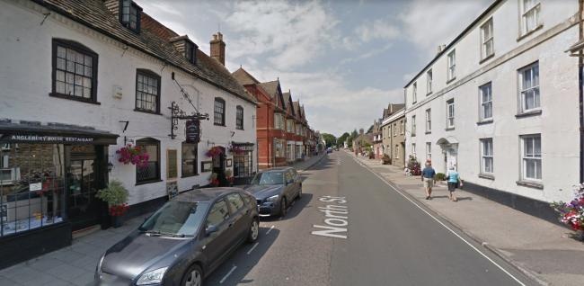 North Street in Wareham has been closed due to a burst water main. Picture: Google Maps