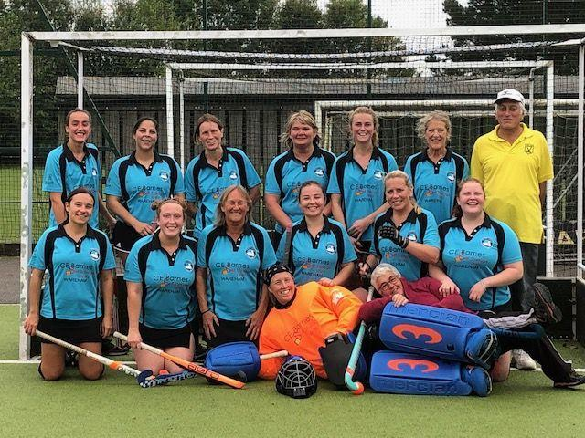SUPER START Swanage & Wareham's ladies first team