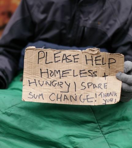 Deaths of homeless people are on the increase
