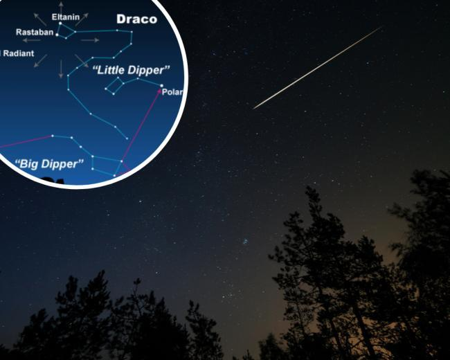 Meteor shower peaks TONIGHT - when and where to see shooting stars