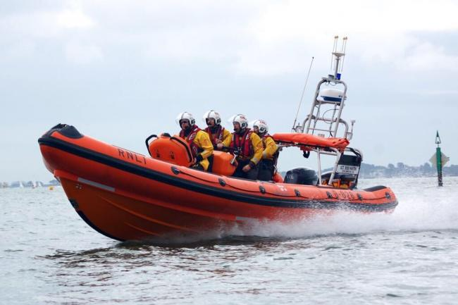 Poole RNLI's Atlantic lifeboat. Picture: RNLI