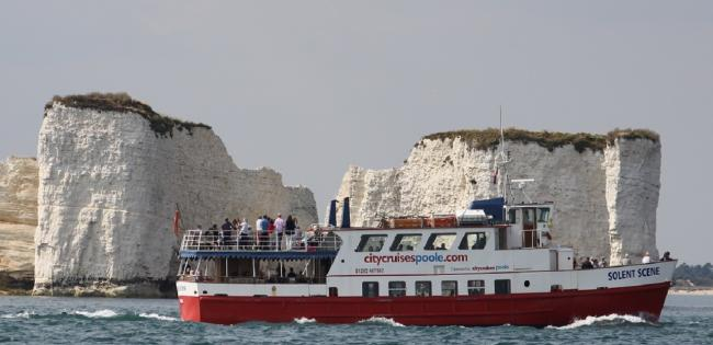 A City Cruises trip past Old Harry Rocks