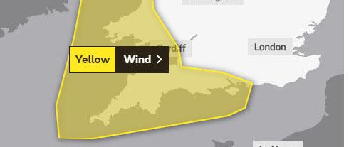The Met Office has issued a weather warning for Dorset on January 13, 2020