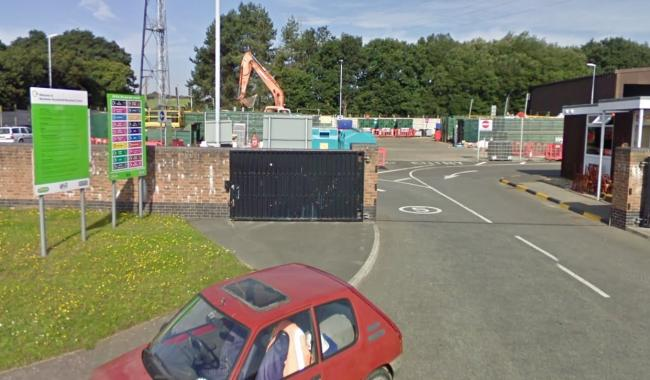 Wareham reycling centre in Westminster Road. Picture: Google Maps/ Street View