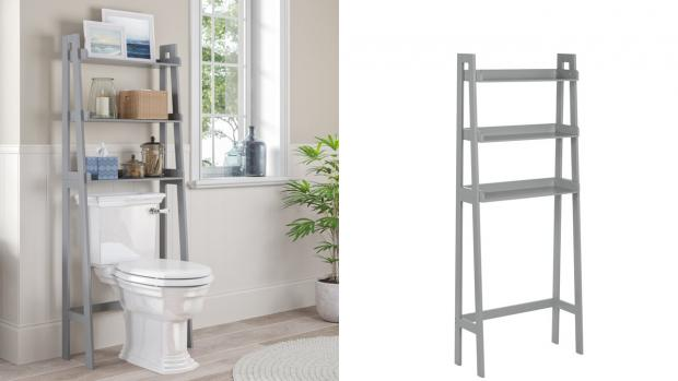 Swanage and Wareham Voice: Over-the-toilet units provide a lot more storage space. Credit: Wayfair