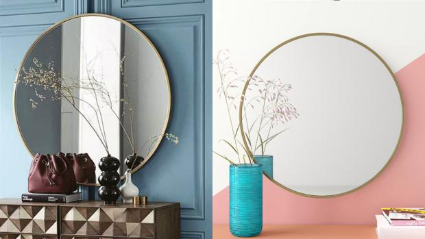Swanage and Wareham Voice: A bigger, more modern mirror will create the illusion of more space. Credit: Wayfair
