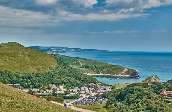 Lulworth Cove is a magnet for tourists. Picture: Mike Watson