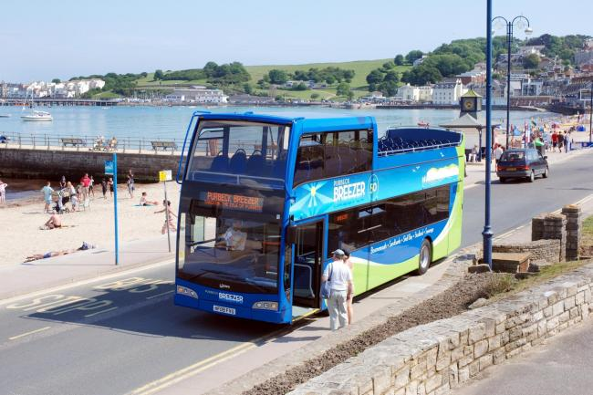 Morebus is adding extra buses on its Purbeck Breezer 50 service