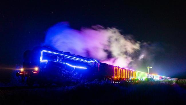 Seats available for 'Steam and Lights' festive trains
