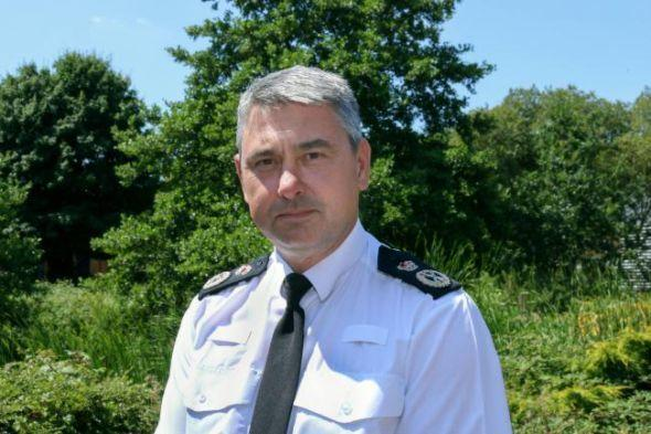 Swanage and Wareham Voice: Chief constable James Vaughan