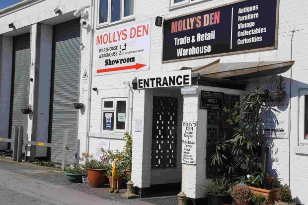 Swanage and Wareham Voice: APPLICATION: Molly's Den warehouse