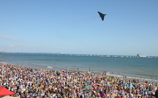 Swanage and Wareham Voice: Check out all our pictures from day four of the Bournemouth Air Festival 2014 on Sunday, August 31. Picture by Richard Crease