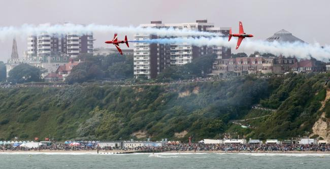 Bournemouth Air Festival is just one of the highlights of 2015