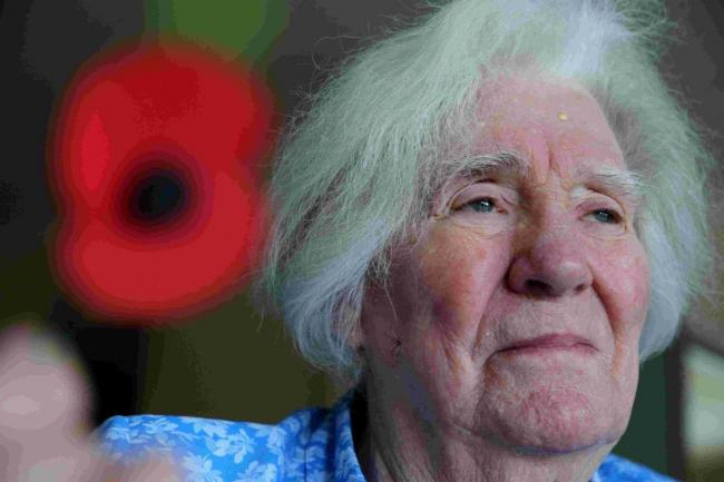 Former Wren Jean Davies is joining the march to The Cenotaph