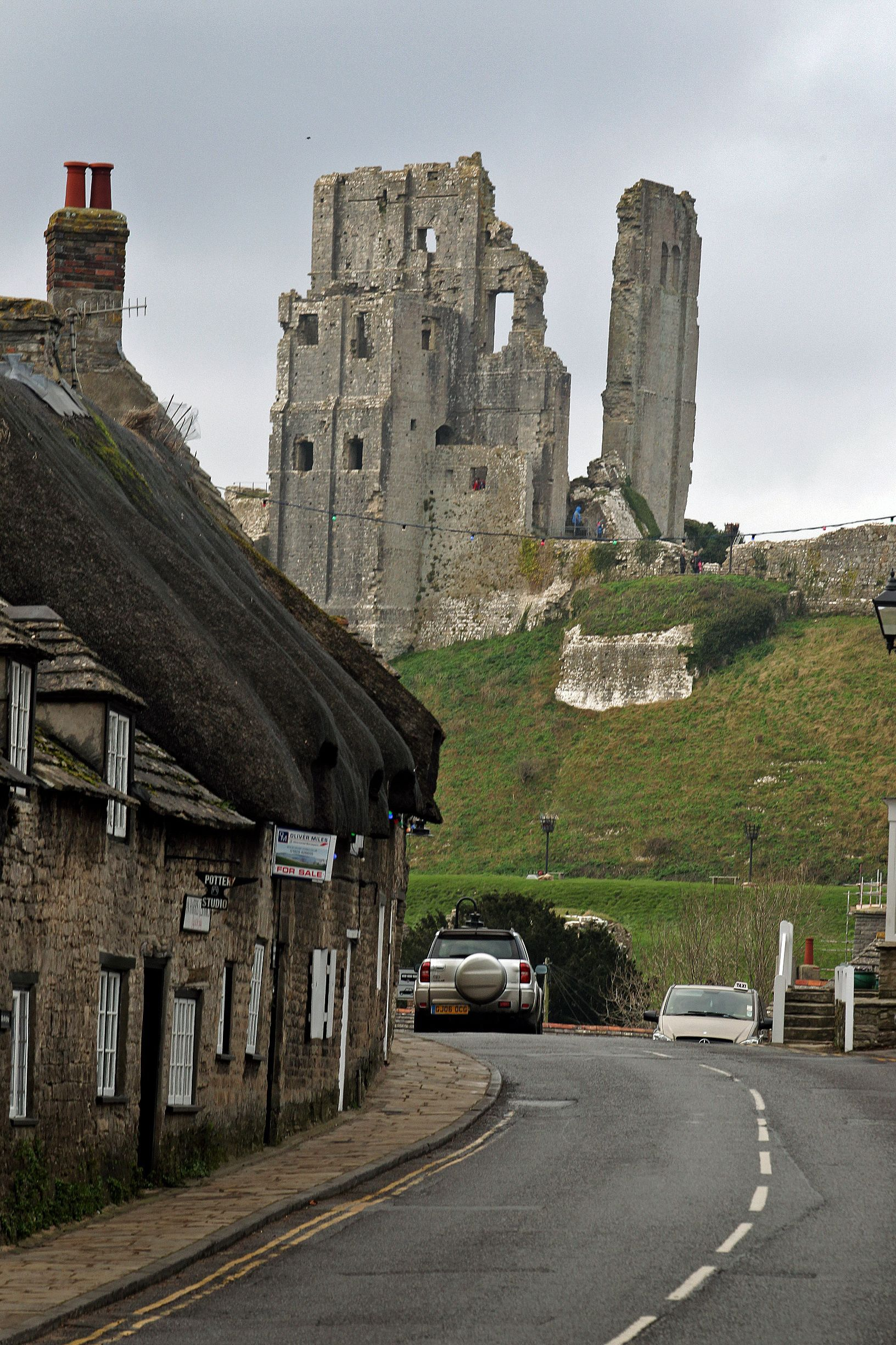 Thanks for supporting Corfe Castle flag day