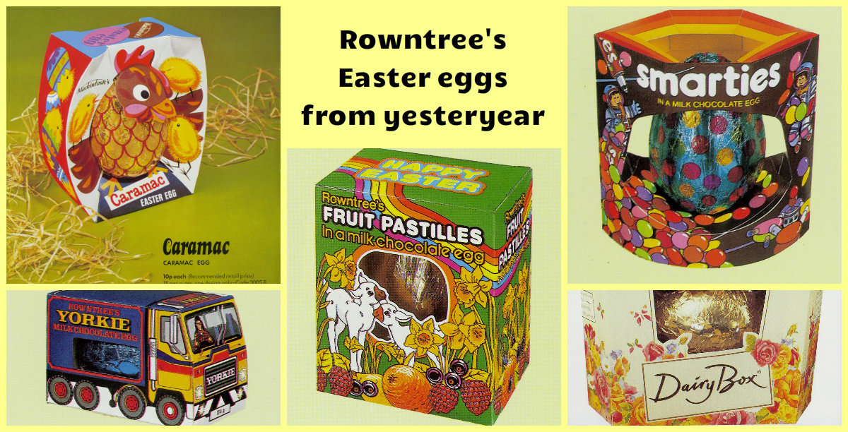 PICTURES: How many of these Rowntree Easter Eggs from the 70s, 80s and 90s do you remember?