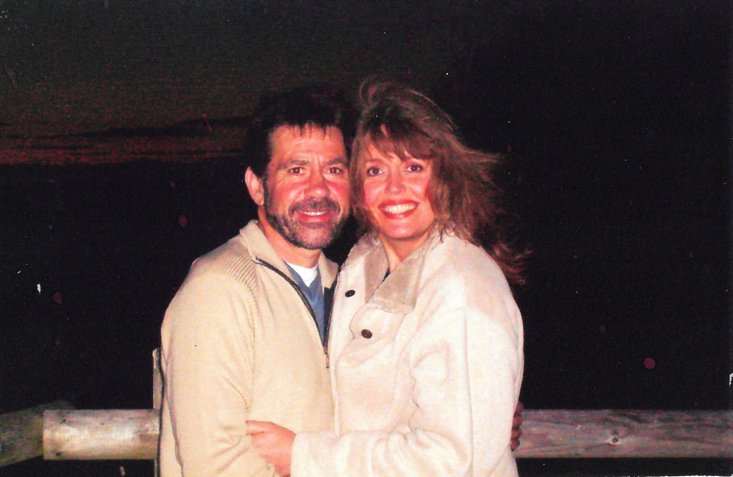 MIssing man Gerald Turner with his wife, Jane.