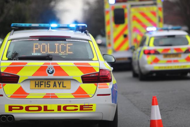 A351 Sandford Road closed near Indian restaurant after two