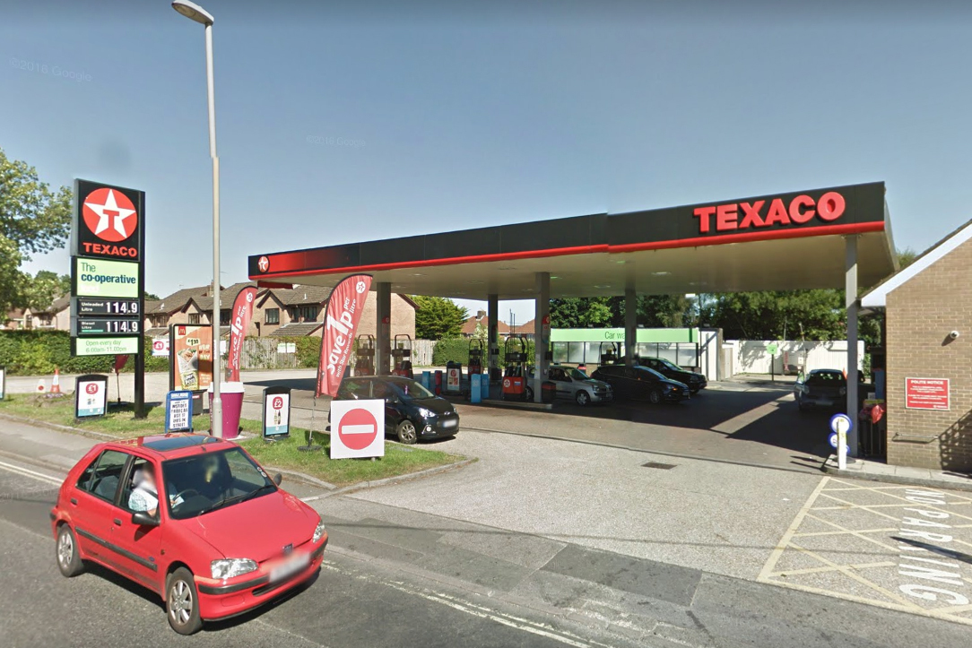 Sandford Petrol Station. Picture: Google Street View