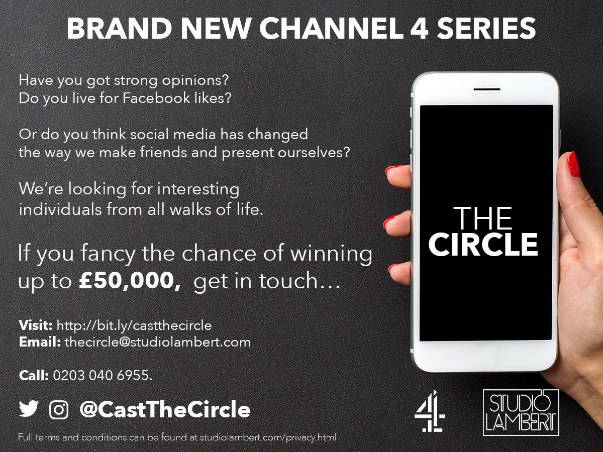 The Circle is coming to Channel 4