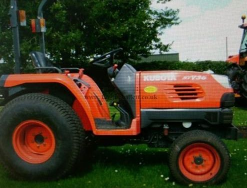 Doset Police have issued a picture of the stolen tractor