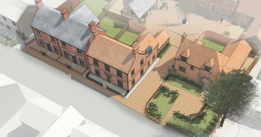 Concept sketch of the proposed frontage onto East Street by Williams Lester Architects