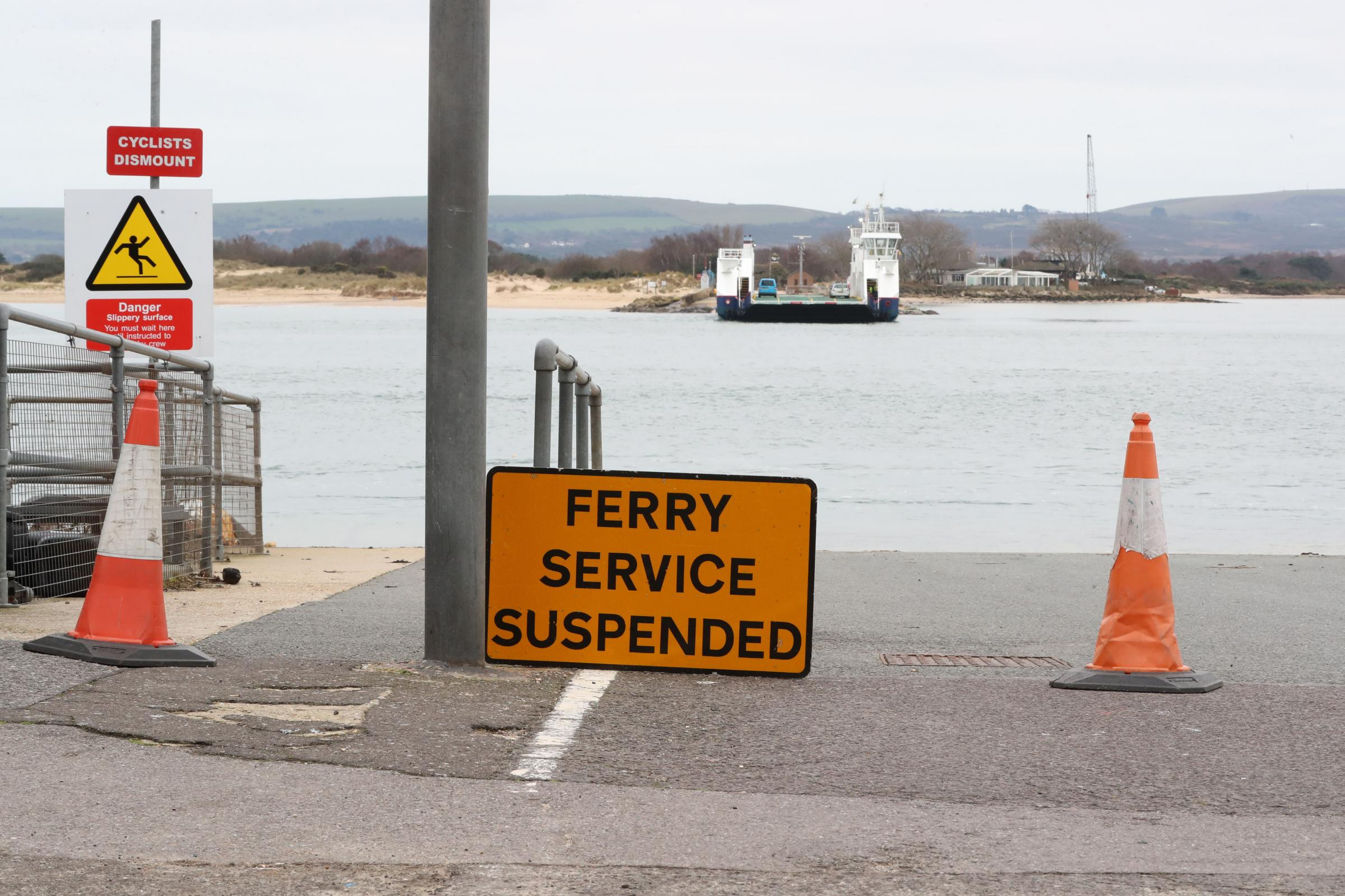 OUT OF ACTION: Sandbanks Ferry