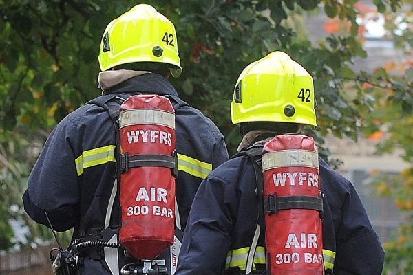 Multiple crews tackling fire on Lulworth Ranges