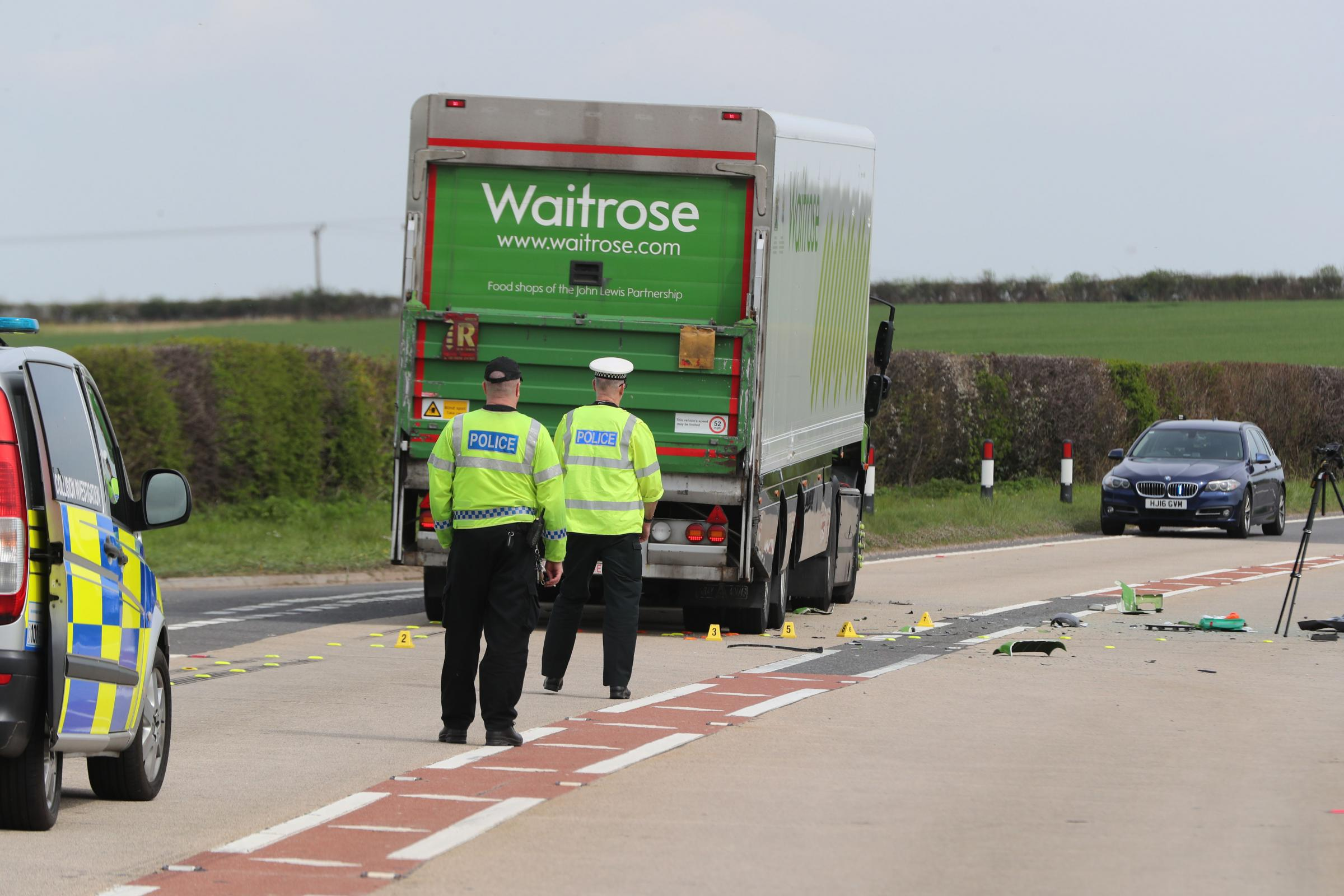 Pensioner killed in A31 crash involving lorry near Bere Regis