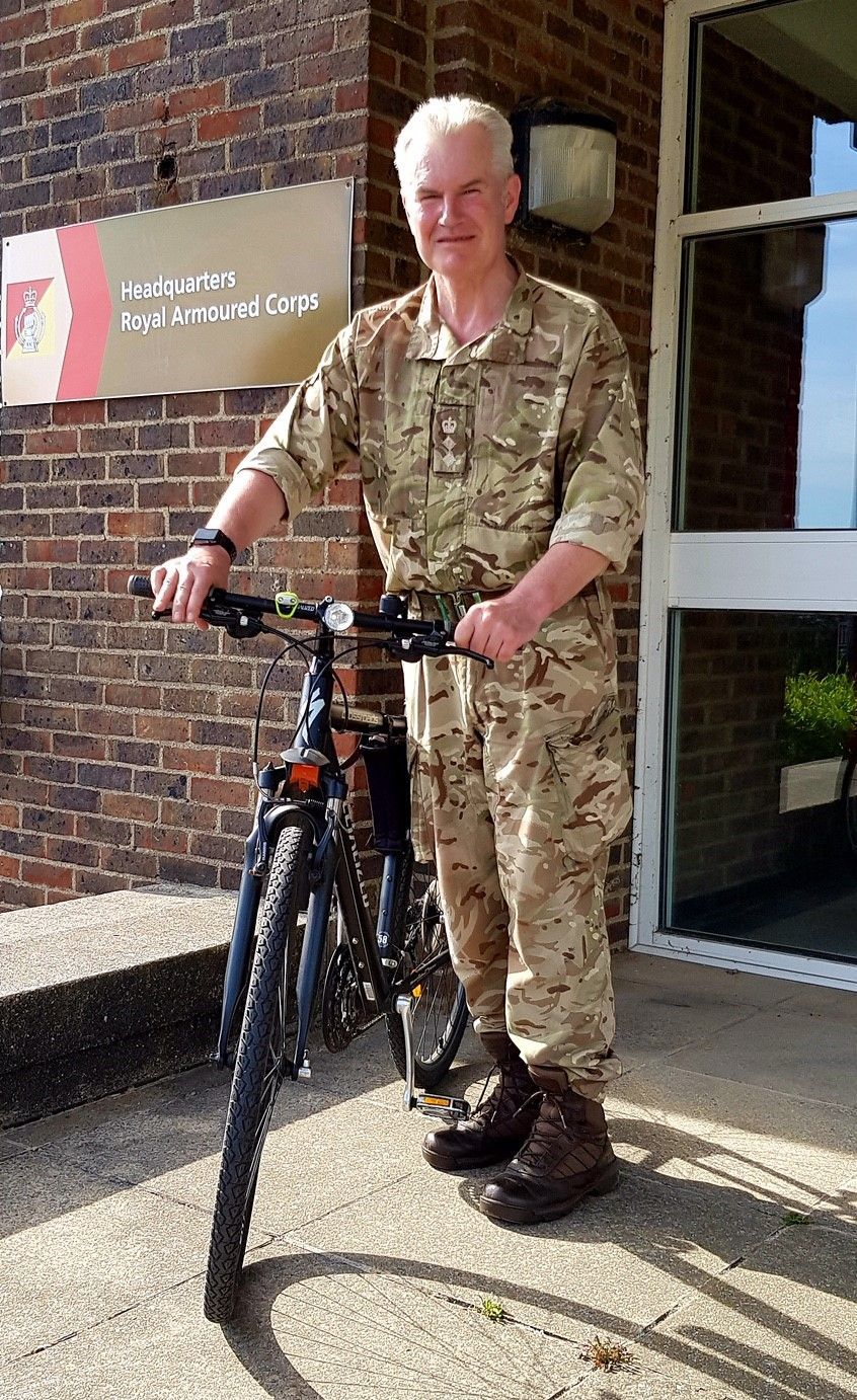 Army officer to take on 500-mile cycle ride for Parkinson's